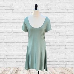Francesca's lexie solid knit dress size small